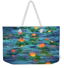 Floating Gems Weekender Tote Bag by Holly Martinson