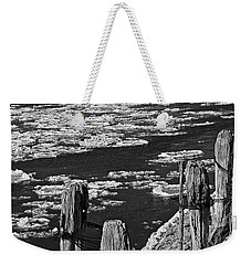 Floating Ice 2 Weekender Tote Bag by Yumi Johnson