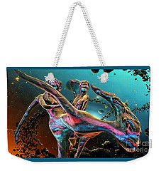 Floating In The Universe Weekender Tote Bag