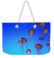 Floating Jellyfish Ballet Weekender Tote Bag