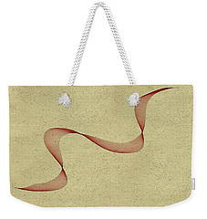 Floating Maroon Abstract Weekender Tote Bag