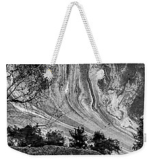 Floating Oil Spill On Water Weekender Tote Bag