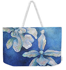 Floating Orchid Weekender Tote Bag by Shadia Derbyshire