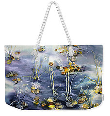 Floating Pond Leaves Weekender Tote Bag