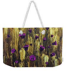 Floating Royal Roses 1 Weekender Tote Bag
