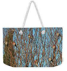 Flock Of Finches Weekender Tote Bag