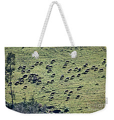Flock Of Sheep Weekender Tote Bag