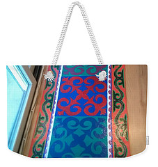 Floor Cloth Arabesque Weekender Tote Bag