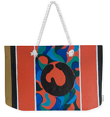 Floor Cloth E - Sold Weekender Tote Bag