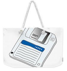 Floppy Disk Weekender Tote Bag