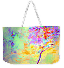 Weekender Tote Bag featuring the photograph Flor by Alfonso Garcia