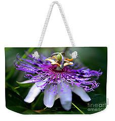 Flora Passiflora Weekender Tote Bag