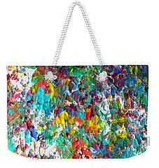 Floral Abstract 0715 Weekender Tote Bag