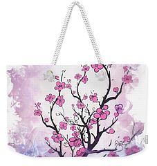 Floral Abstract Painting  Weekender Tote Bag