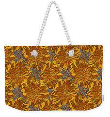 Floral Adornment Weekender Tote Bag