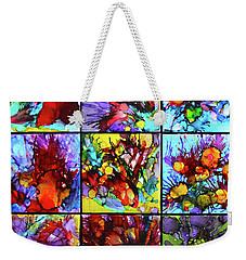 Floral Air Weekender Tote Bag