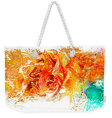 Weekender Tote Bag featuring the photograph Floral by Alfonso Garcia
