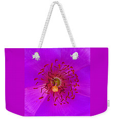Weekender Tote Bag featuring the mixed media Floral Aroma by Mary Ellen Frazee