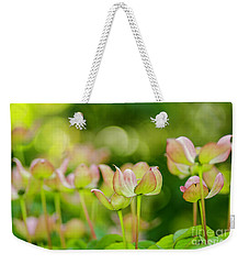 Floral Art Weekender Tote Bag