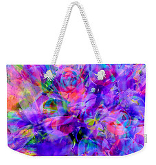 Floral Bouquet Abstract Weekender Tote Bag