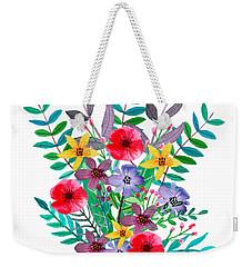 Just Flora Weekender Tote Bag