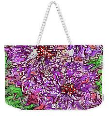Floral Burst Weekender Tote Bag