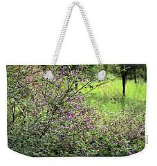 Floral Bush Weekender Tote Bag