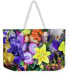 Floral Collage 02 Weekender Tote Bag
