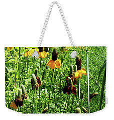 Floral Weekender Tote Bag by Cynthia Powell