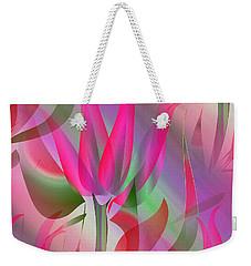 Floral Display 3 Weekender Tote Bag