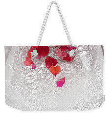 Floral Flush Weekender Tote Bag