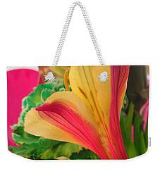 Floral Fusion Weekender Tote Bag