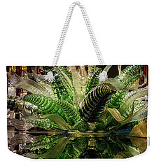 Floral In Glass Weekender Tote Bag