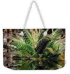 Floral In Glass Weekender Tote Bag