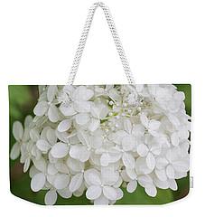Floral In White Weekender Tote Bag