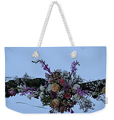 floral love in the Kenyan sky Weekender Tote Bag