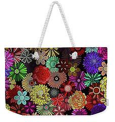 Floral Love Weekender Tote Bag