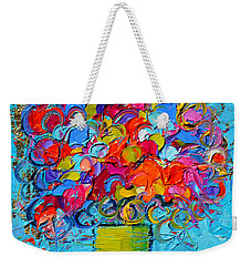 Floral Miniature - Abstract 0415 Weekender Tote Bag