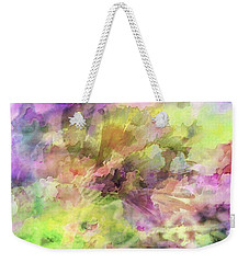 Floral Pastel Abstract Weekender Tote Bag