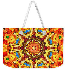 Mandala Of The Sun Weekender Tote Bag