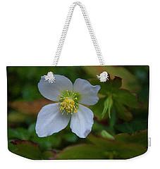 Weekender Tote Bag featuring the painting Floral Print 096 by Chris Flees