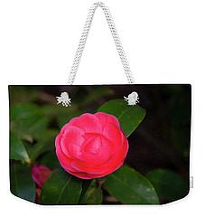 Weekender Tote Bag featuring the painting Floral Print 097 by Chris Flees