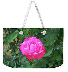 Weekender Tote Bag featuring the painting Floral Print 100 by Chris Flees