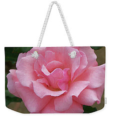 Weekender Tote Bag featuring the painting Floral Print 105 by Chris Flees