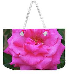 Weekender Tote Bag featuring the painting Floral Print 106 by Chris Flees