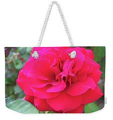 Weekender Tote Bag featuring the painting Floral Print 107 by Chris Flees