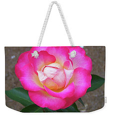 Weekender Tote Bag featuring the painting Floral Print 109 by Chris Flees