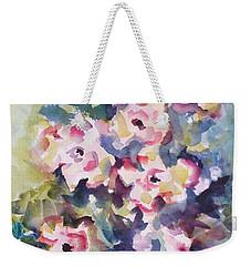 Floral Rhythm Weekender Tote Bag