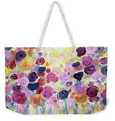 Floral Splendor IIi Weekender Tote Bag