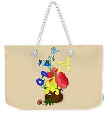 Floral Still Life 1674 Weekender Tote Bag